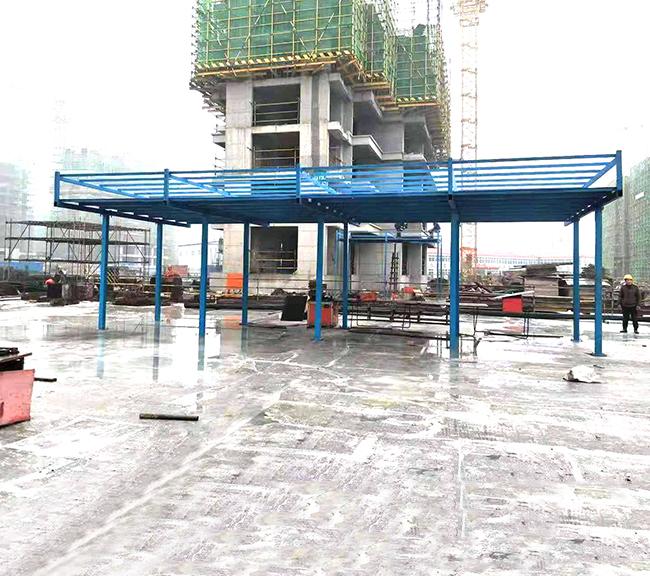 安徽施工现场定型化安全防护棚