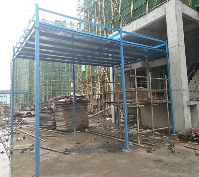 安徽工地定型化安全防护棚