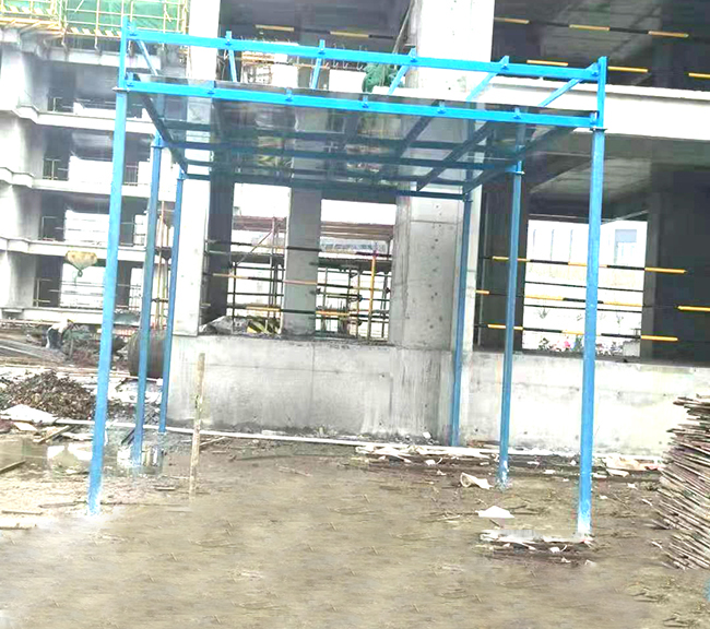 安徽建筑定型化安全防护棚
